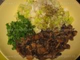 Salata de ciuperci cu andive «2/3»