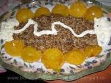 Desert cu portocale si ciocolata