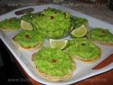 Pasta de mazare cu avocado