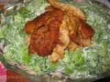 Salata verde cu iaurt-Sorin