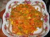 Jambalaya cu fructe de mare-Sorin