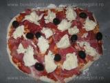 Pizza cu sunca si mozzarela «2/3»