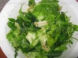Rucola cu salata verde