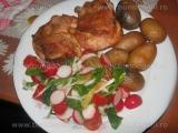 Salata de ridichi cu rosii «3/3»