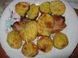 Carne cu cartofi la grill