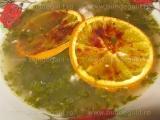 Supa de pui cu sos de gogonele