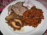 Friptura de porc cu otet balsamic
