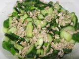 Salata de castraveti cu seminte