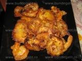 Creveti in tempura
