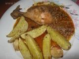 Cartofi cu usturoi la cuptor «3/3»