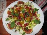 Salata verde cu capere si smochine