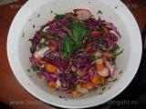Salata de varza rosie cu ridichi «3/3»