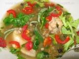 Supa de pui cu arpacas «3/3»