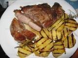 Cotlet de porc prajit