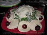 Mozzarella cu struguri si sos-Rodica