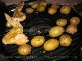 Aripi de pui si cartofi,la grill «1/3»