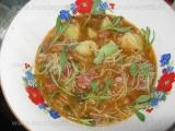 Supa de fasole cu cartofi si taitei-Verdi «3/3»