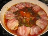 Carne in sunca,cu legume «3/3»