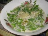 Ciorba de fasole verde cu rubarba «3/3»