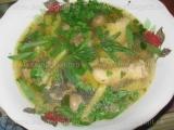 Supa de pui cu fasole si ciuperci «3/3»