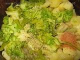 Piure de cartofi cu broccoli «1/3»
