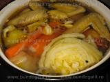 Supa de pui cu porumb si taitei «2/3»