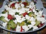 Salata de broccoli cu usturoi-Victoria