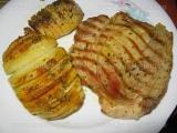 Cartofi Hasselback