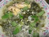 Supa de pui cu spanac «3/3»