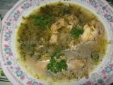 Supa de pui cu varza si gogonele «3/3»
