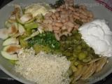 Salata de cartofi cu hering «2/3»