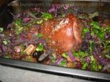 Friptura din cotlet de porc cu fructe «2/3»