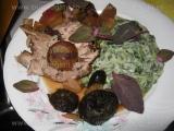 Friptura din cotlet de porc cu fructe «3/3»