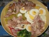 Salata de cartofi cu pui «1/3»