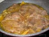 Cotlete caramelizate,cu fructe «2/3»