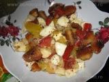 Salata de creveti si mozzarella-Rodica