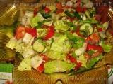 Salata romana cu castraveti