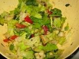 Salata romana cu ardei