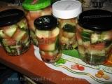 Coaje de pepene verde murata