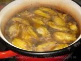 Supa de pui cu ciuperci,porumb si naut «1/3»