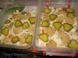 Salata de legume cu carne si hrean «3/3»