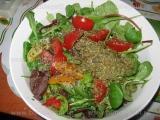 Salata de verdeturi cu rosii «2/3»