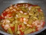 Supa picanta de creveti,cu bame «1/3»