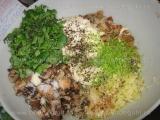Salata de ciuperci la gratar,cu maioneza si usturoi «1/3»