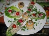 Salata de ciuperci la gratar,cu maioneza si usturoi «3/3»