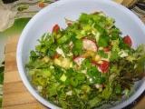 Salata de vara cu usturoi copt